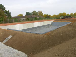 Geomembranes baches pour bassins pbe picardie baches for Bache etanche bassin